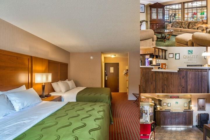 Quality Inn Saint Ignace photo collage
