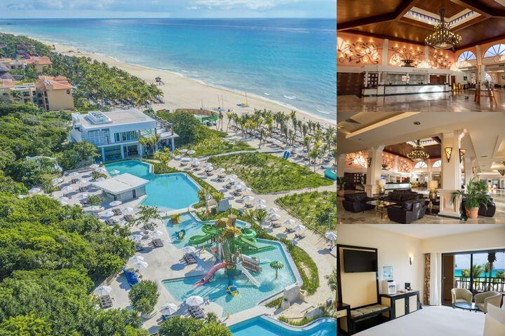 Sandos Playacar Beach Resort Select Club All Inclusive photo collage