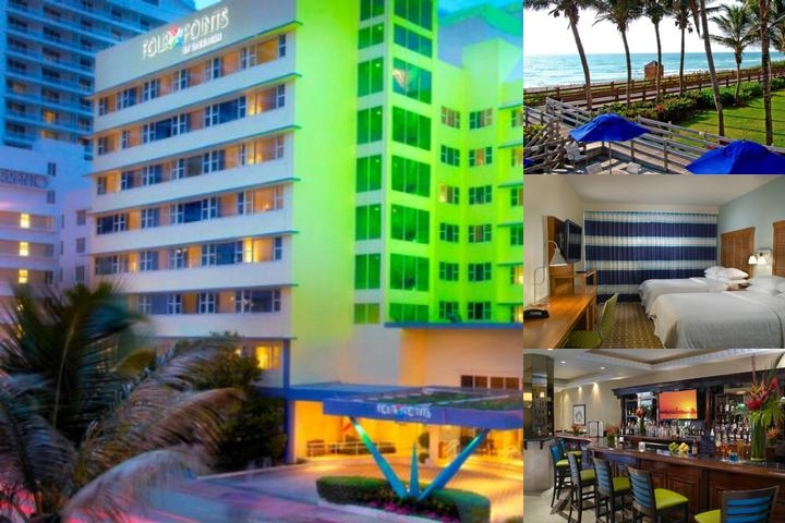 Four Points by Sheraton Miami Beach photo collage