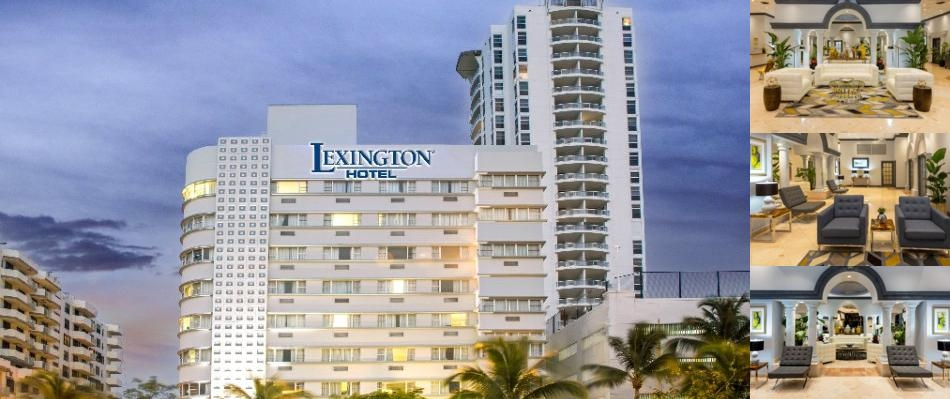 Lexington Hotel Miami Beach photo collage