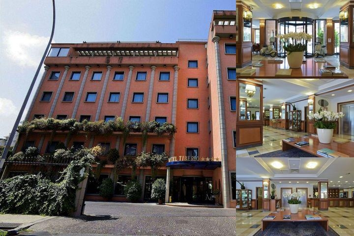 Grand Hotel Tiberio photo collage