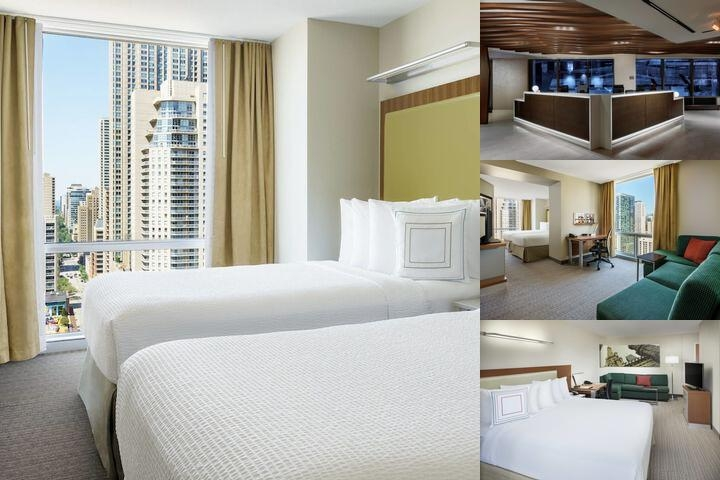 Springhill Suites by Marriott Chicago Downtown / R New Marriott Springhill Suites River North Hotel!