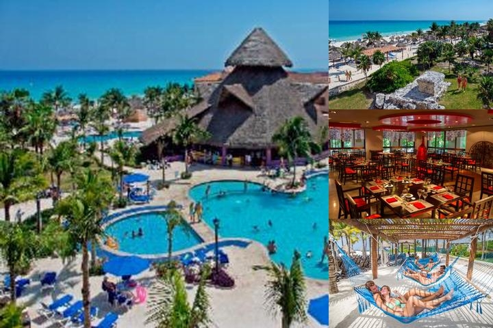 Sandos Playacar Beach Resort & Spa All Inclusive photo collage