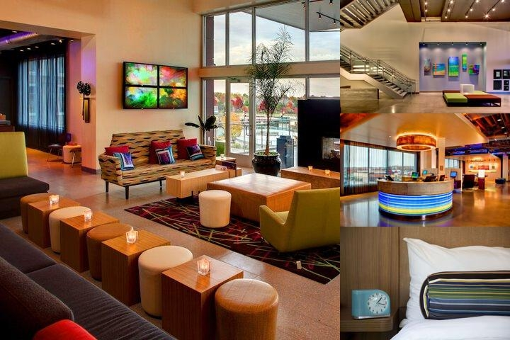 Aloft Leawood Overland Park photo collage