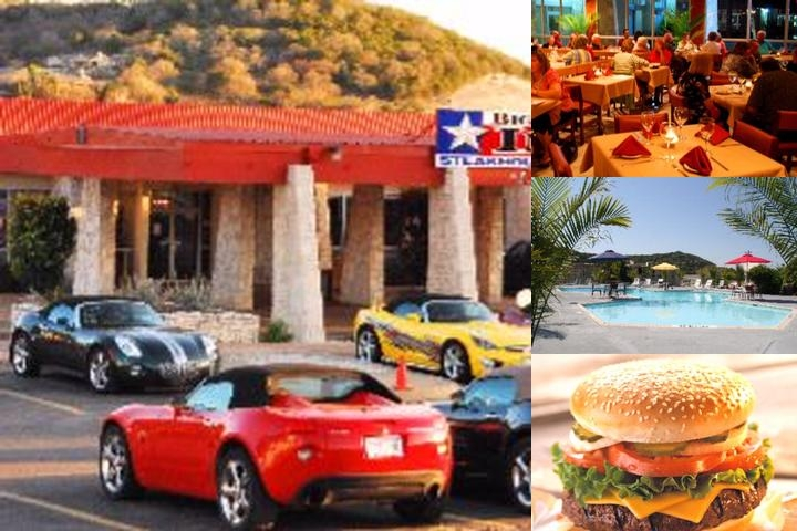 Big Texas Inn photo collage