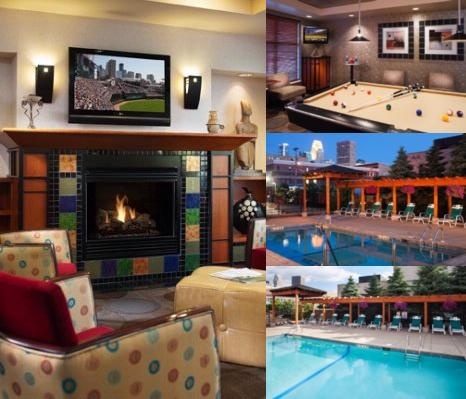 Towneplace Suites Minneapolis photo collage