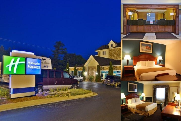 Holiday Inn Express Mackinaw City photo collage