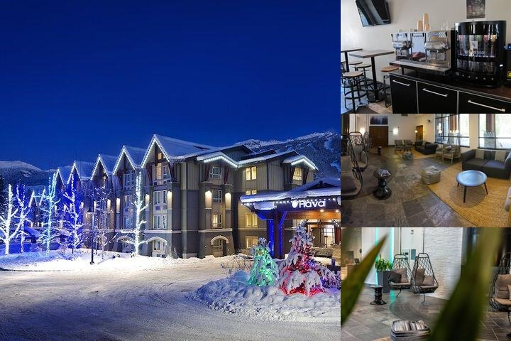 Aava Whistler Hotel photo collage
