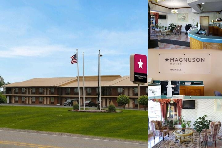 Magnuson Hotel Howell photo collage