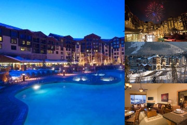 Silverado Lodge Park City Canyons Village photo collage