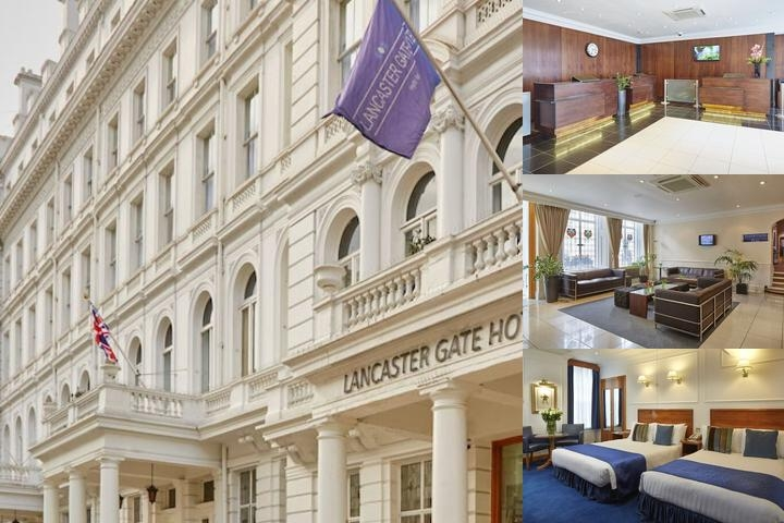 Lancaster Gate Hotel photo collage