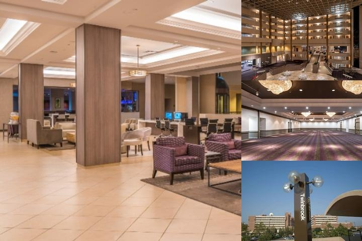 Hilton Rockville Hotel photo collage