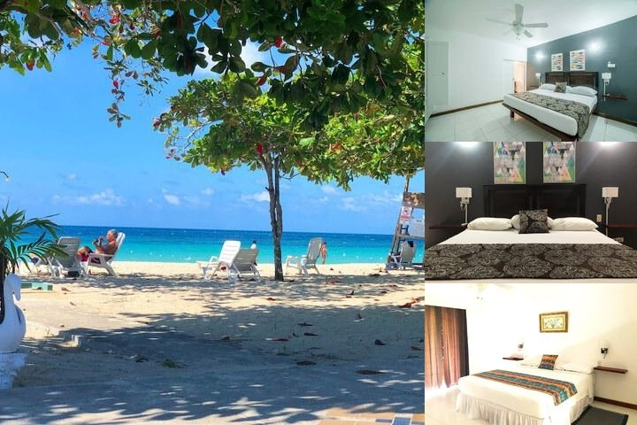 Negril Beach Club Resort photo collage