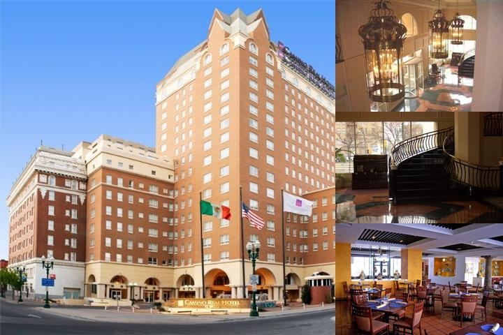 Camino Real Hotel El Paso photo collage