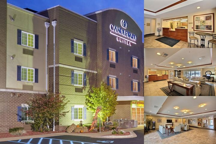 Candlewood Suites Milwaukee Airport photo collage