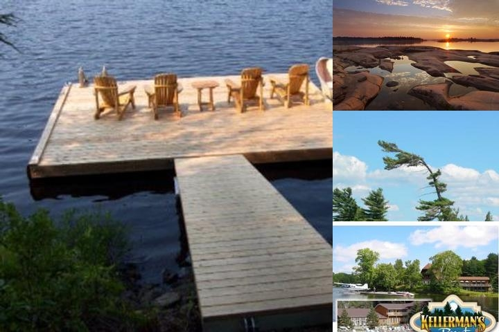 Kellermans Resort photo collage