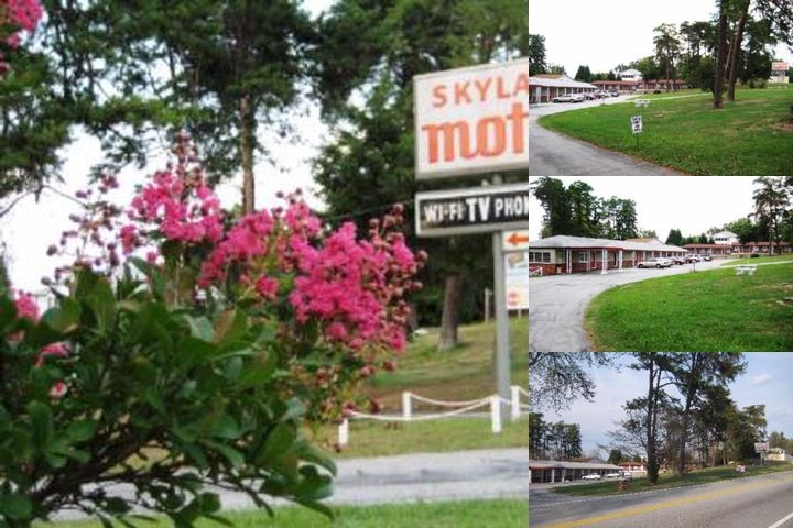 Skyland Motel photo collage
