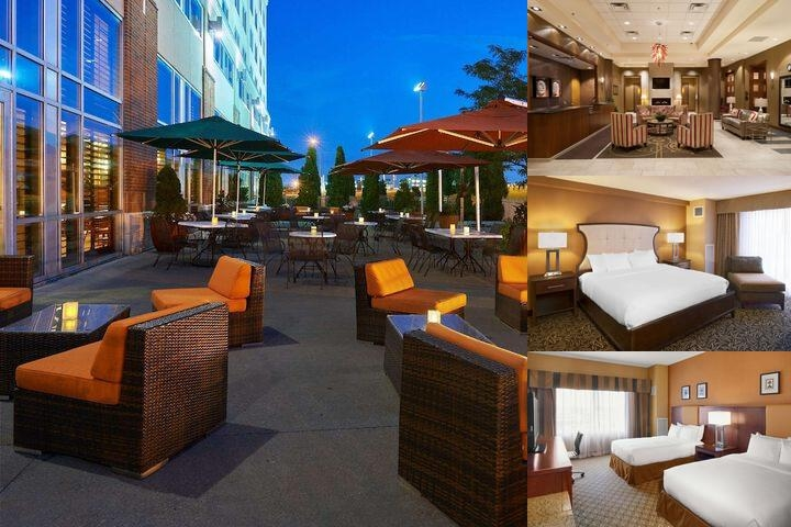 Doubletree by Hilton Bay City Riverfront photo collage
