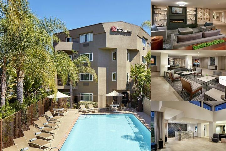 Hilton Garden Inn San Diego Mission Valley Stadium photo collage