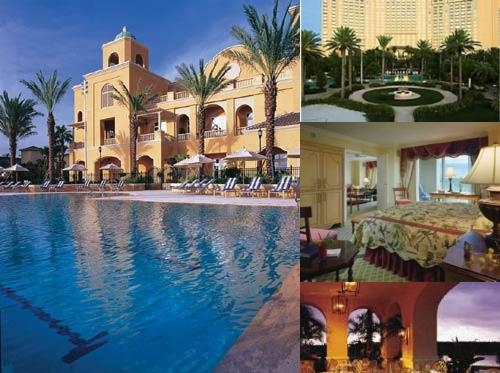 JW Marriott & Ritz Carlton Orlando Grandelakes photo collage