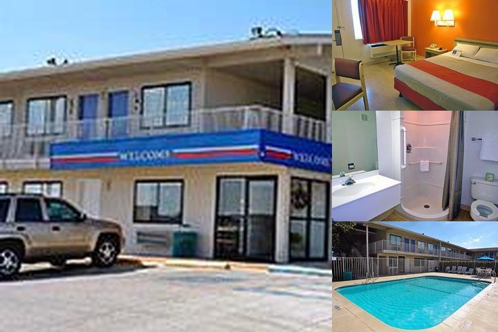 Motel 6 North photo collage
