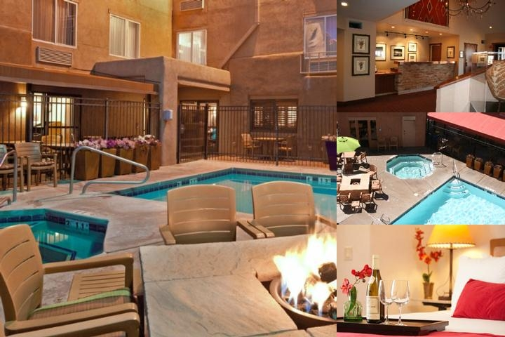 Inn at Santa Fe SureStay Collection by Best Western photo collage