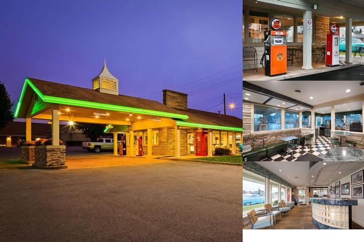 Best Western Route 66 photo collage