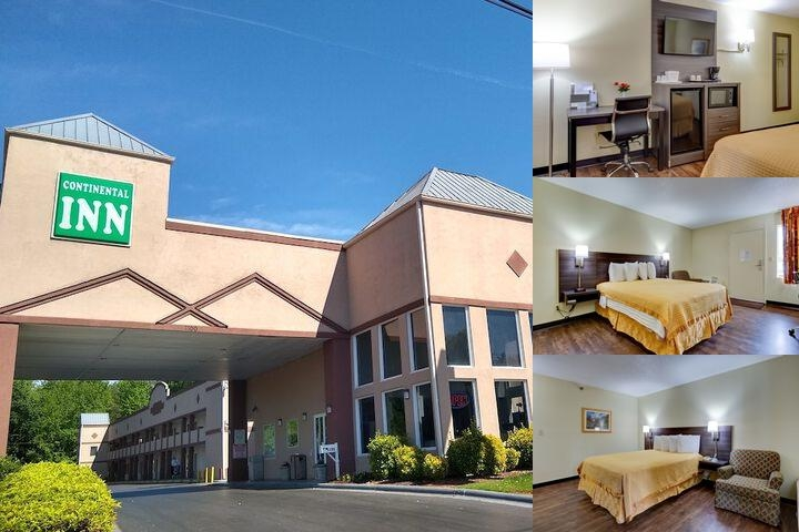 Continental Inn photo collage