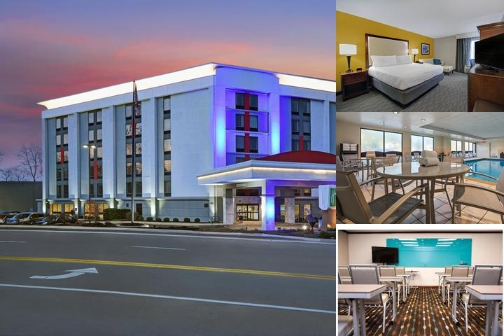 Hampton Inn Cincinnati Riverfront photo collage