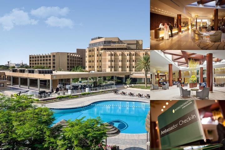 Intercontinental Riyadh photo collage