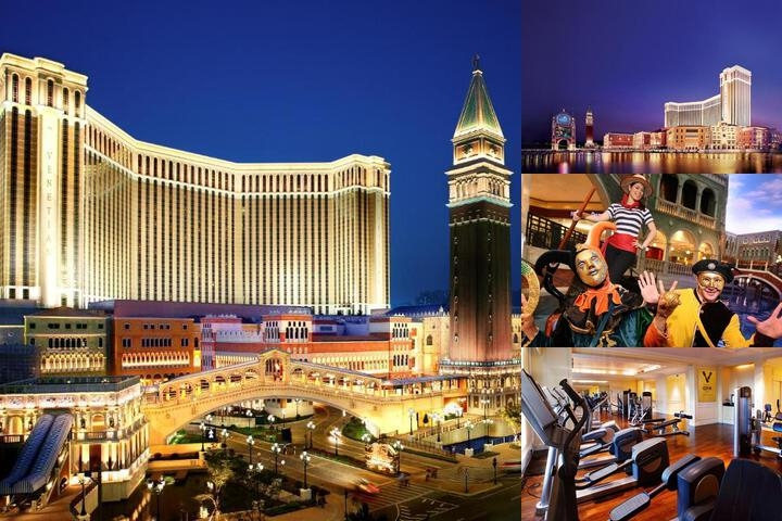 Venetian Macao photo collage