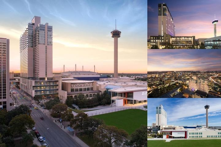 Grand Hyatt San Antonio photo collage
