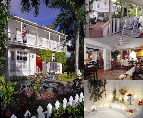 Sabal Palm House Bed & Breakfast Inn photo collage