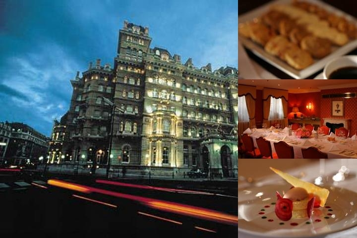 The Langham London photo collage