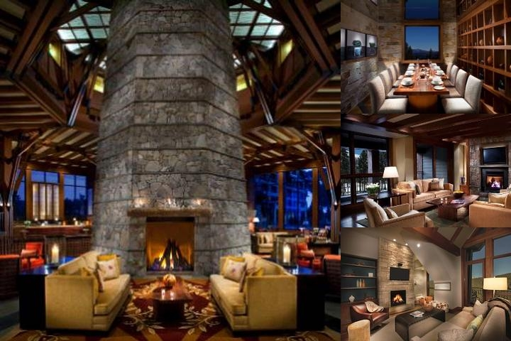 The Ritz Carlton Highlands Lake Tahoe photo collage