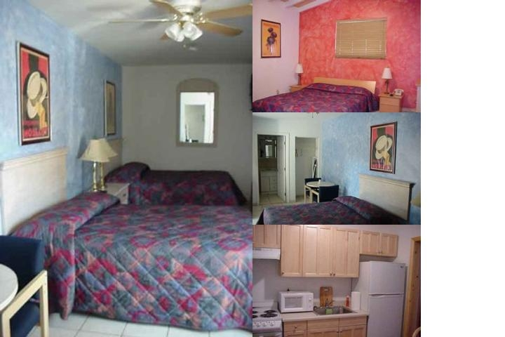 Delray Inn photo collage