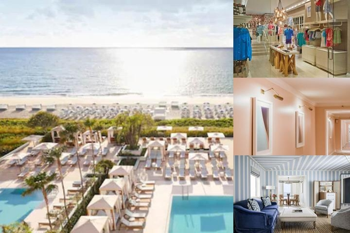 Four Seasons Resort Palm Beach photo collage