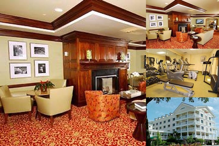 Charleston Courtyard by Marriott Waterfront photo collage