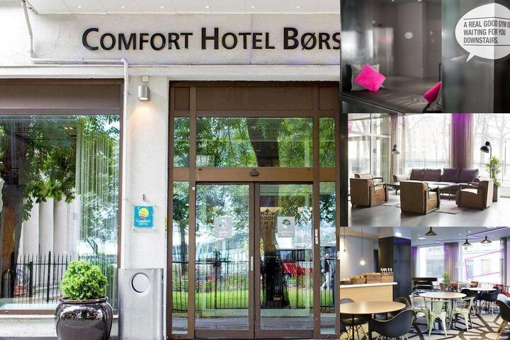 Comfort Hotel Borsparken photo collage