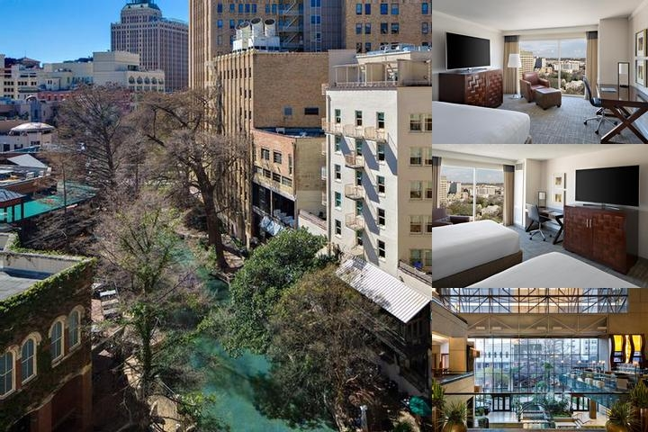 Hyatt Regency San Antonio photo collage