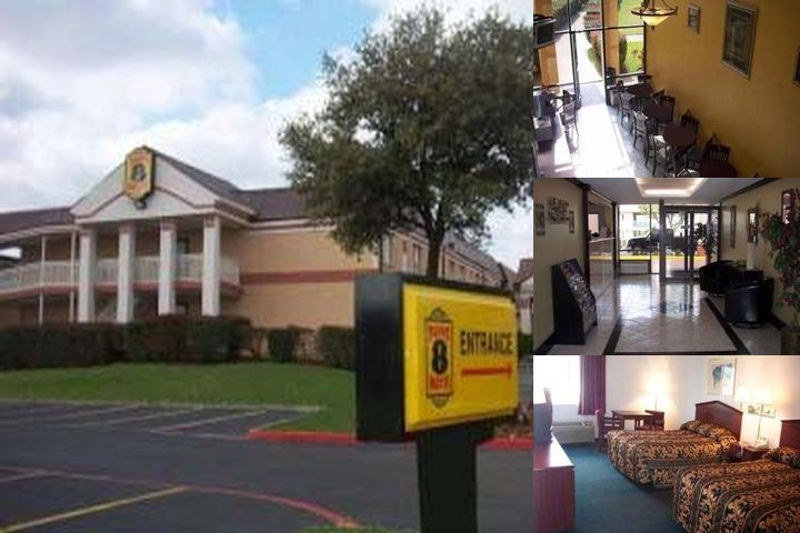 Super 8 Grand Prairie photo collage