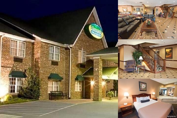 Mountain Inn & Suites Flat Rock photo collage