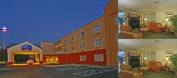 Fairfield Inn Asheville Airport photo collage