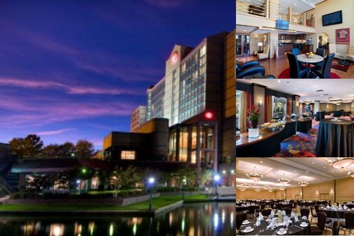 Hilton Charlotte University Place photo collage