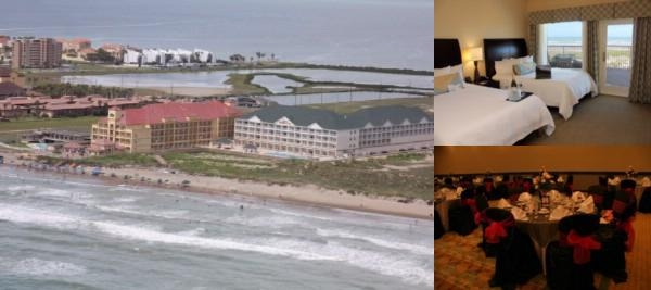 Hilton Garden Inn Beach Front Resort Hotel photo collage