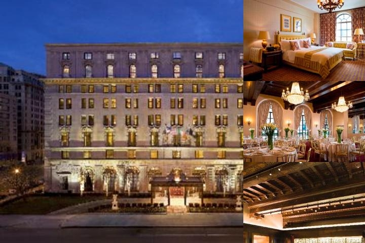 The St. Regis Washignton D.c. photo collage