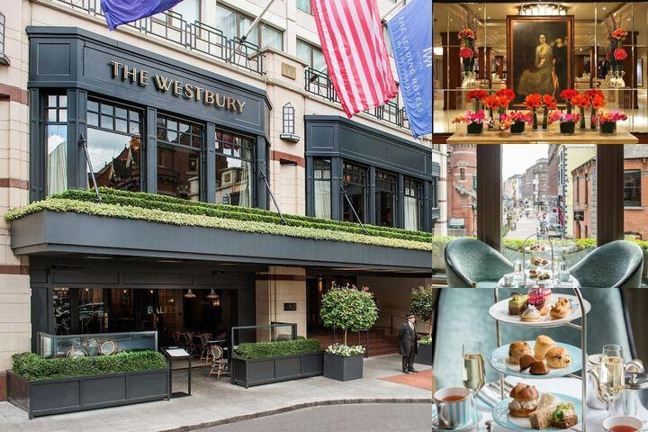 The Westbury Hotel photo collage