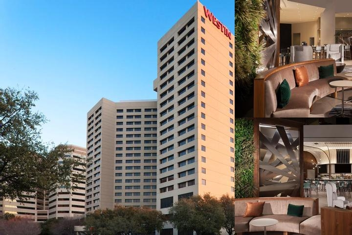 The Westin Park Central Dallas photo collage