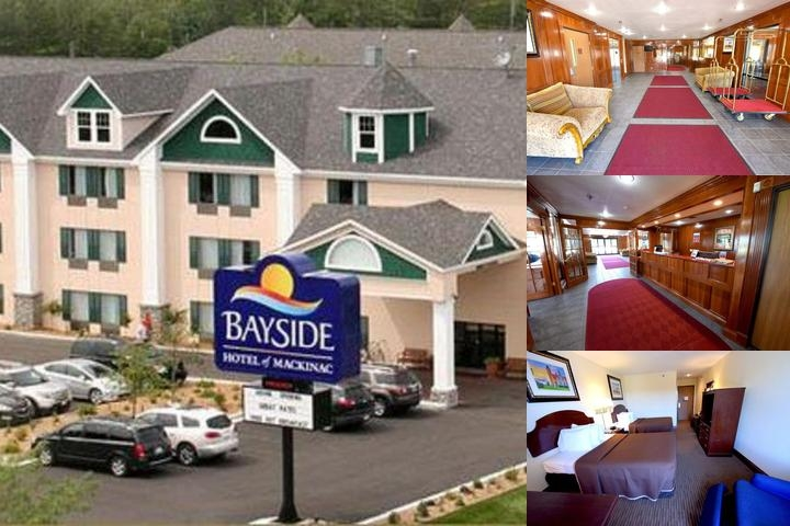 Bayside Hotel of Mackinac photo collage