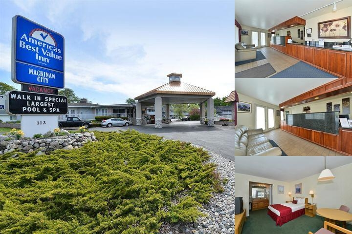 Americas Best Value Inn of Mackinaw City photo collage